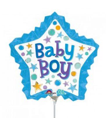 בלון על מקל – כוכב baby boy