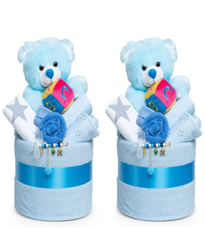 עוגת ההפתעות לתאומים – 2 בנים