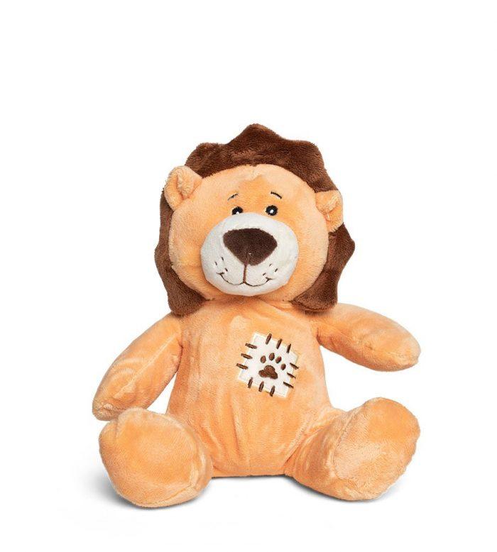 בובת ספארי רכה - אריה