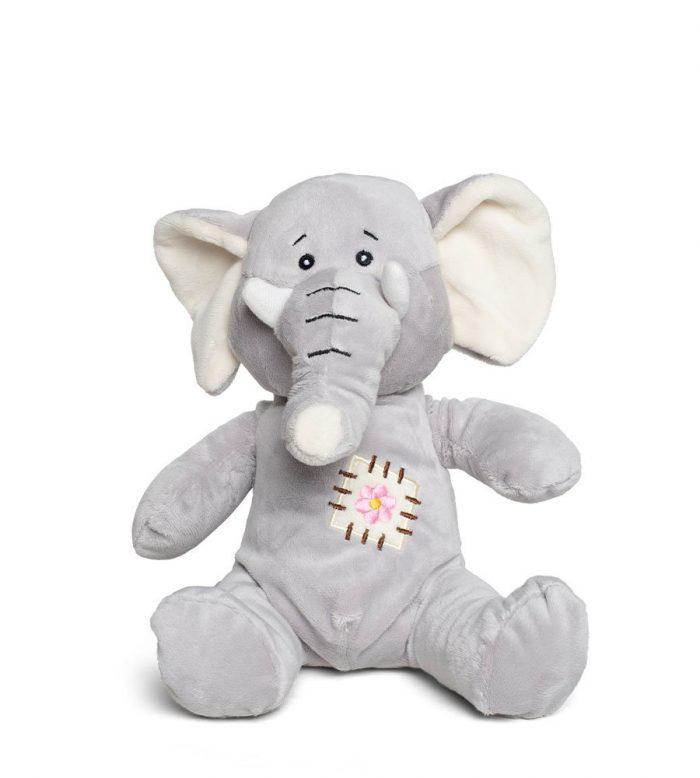 בובת ספארי רכה - פיל